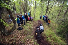Sweden Enduro Series in Gothenburg. Photo by: Jon Bokrantz