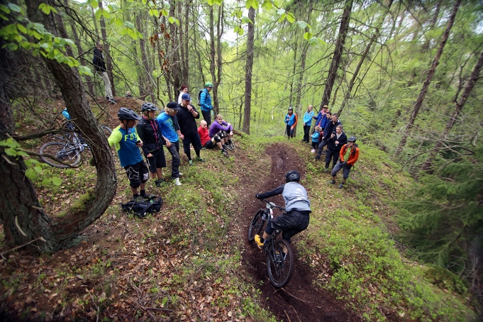 Sweden Enduro Series in Gothenburg. Photo by: Jon Bokrantz